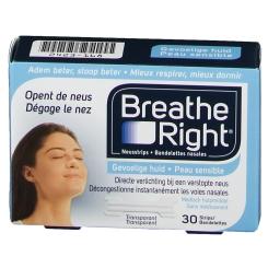Breathe Right® Clear Nasenpflaster