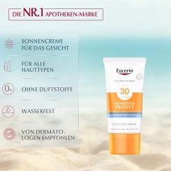Eucerin® Sensitive Protect Face Sun Creme LSF 30