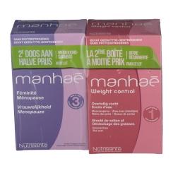 Nutrisanté manhaé Menopause + manhaé Weight control