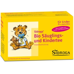 SIDROGA Bio Säuglings- und Kindertee Filterbeutel