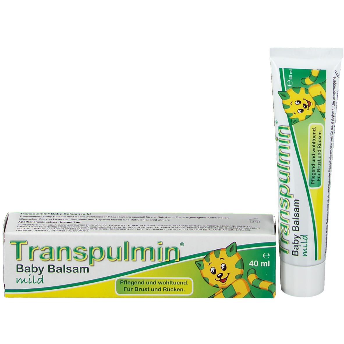 Transpulmin® Baby Balsam mild - shop-apotheke.ch